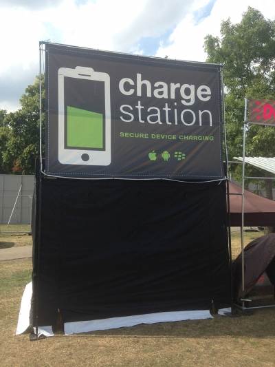 festival charge station